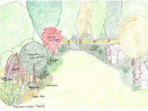 amenagement jardin français et jardin anglais dans une longère by Décoration et Jardins